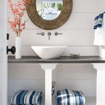Outdoor Bathroom, Cottage, bathroom, At Home in Fairfield County