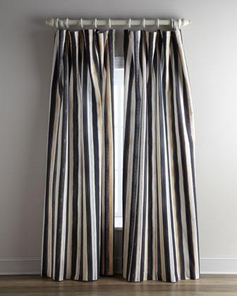 Courtly Stripe Curtains Neiman Marcus