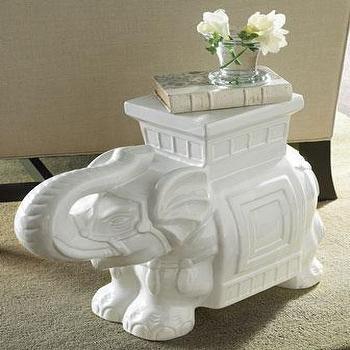 White Elephant Garden Seat, Neiman Marcus