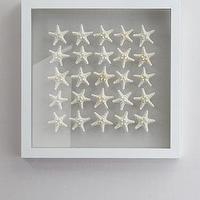 Art/Wall Decor - 'Knobby Starfish' Wall Decor - Neiman Marcus - coastal wall decor, coastal wall art, framed starfish, framed starfish wall decor,