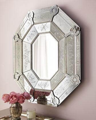 Venetian-Style Mirror - Neiman Marcus - octagonal-shaped Venetian ...