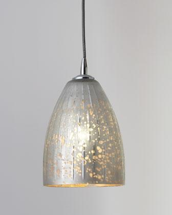 Jamie young striped silver dome pendant neiman marcus for Jamie young lighting pendant