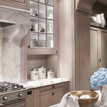 Ash Gray Kitchen Cabinets, Transitional, kitchen, Design Galleria