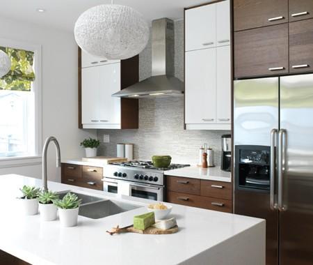 Ikea Nexus Contemporary Kitchen Benjamin Moore White Dove House Home
