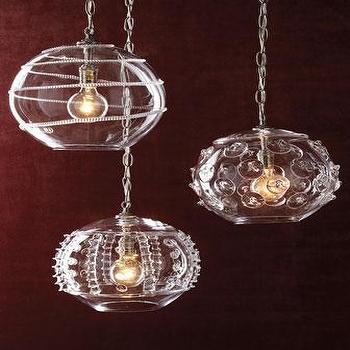 Globe Pendant Lights, Neiman Marcus