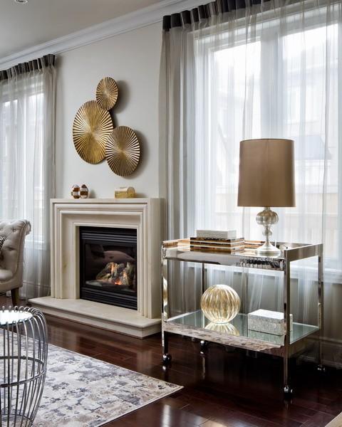 modern bar cart contemporary living room toronto interior design group. Black Bedroom Furniture Sets. Home Design Ideas