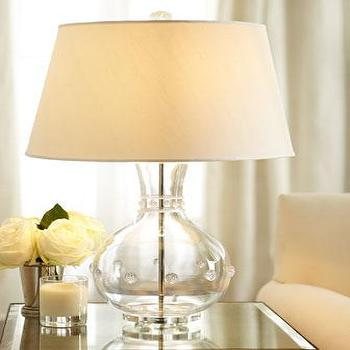 Lighting - 'Isabella' Vase Lamp - Neiman Marcus - hand-blown lamp, hand-blown glass lamp, glass lamp,