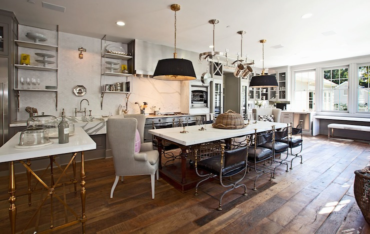 European Kitchen - Transitional - kitchen - Benjamin Moore ...