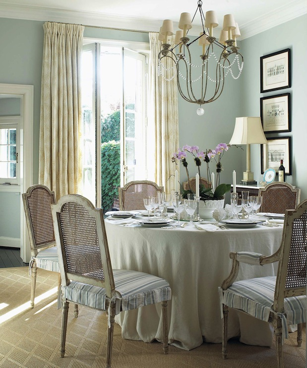 duck egg blue paint color french dining room anne
