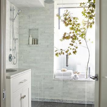 Zen Bathroom, Transitional, bathroom, Anne Hepfer Designs