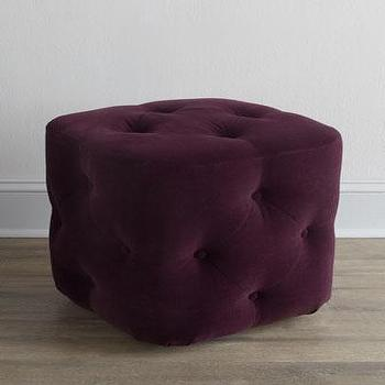 Button Tufted Upholstered Ottoman Sandstone Target