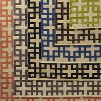 Rugs - &#039;Block Squares&#039; Rug - Neiman Marcus - geometric rug, green geometric rug, orange geometric rug, gray geometric rug, indigo blue geometric rug, brown geometric rug, black geometric rug,