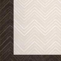 Rugs - &#039;Dimension Chevron&#039; Rug - Neiman Marcus - chevron rug, ivory chevron rug, brown chervon rug, cream chevron rug,