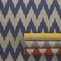 Rugs - &#039;Wild Chev&#039; Rug - Neiman Marcus - chevron rug, striped chevron rug, blue chevron rug, yellow chevron rug, gray chevron rug, orange chevron rug,