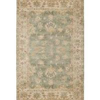 Rugs - &#039;Oceanna&#039; Rug - Neiman Marcus - Oushak rug, blue Oushak rug, blue and cream Oushak rug, blue and gold Oushak rug,