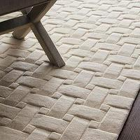 Rugs - &#039;Woven Textures&#039; Rug - Neiman Marcus - textural cream rug, textural ivory rug, geometric rug, ivory geometric rug, modern ivory rug,