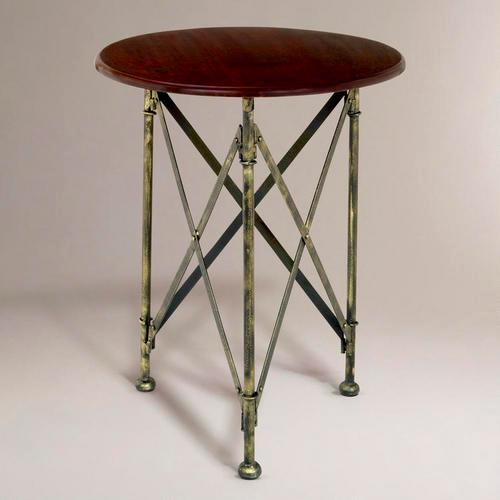 Walker Campaign Accent Table World Market