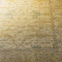 Rugs - &#039;Meadow&#039; Oushak Rug - Neiman Marcus - oushak rug, gold oushak rug, gold and blue oushak rug,