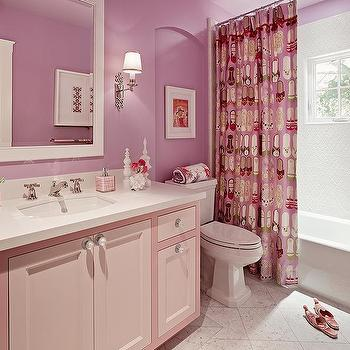 Girls' Bathroom Design, Contemporary, bathroom, Coddington Design