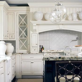 Off White Kitchen Cabinets, Traditional, kitchen, Morgan Harrison Home