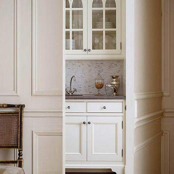 Hidden Butler's Pantry, Traditional, kitchen, BHG