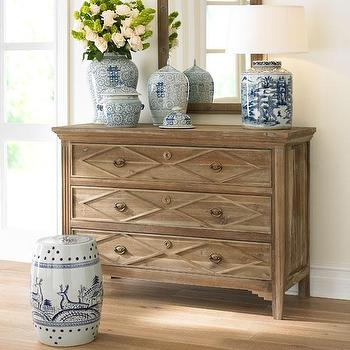French Directoire Dresser, Wisteria