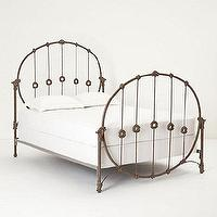 Beds/Headboards - Hoopskirt Bed Frame - Anthropologie.com - iron bed frame, hoopskirt bed frame, iron bed,