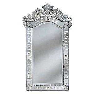 Mirrors - Pia Venetian Wall Mirror - Simply Mirrors - venetian wall mirror, venetian mirror, arched venetian mirror,