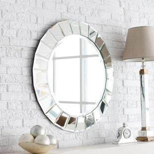 Mirrors - Fortune Venetian Mirror - Simply Mirrors - round mirror framed mirror, round mirror, modern round mirror,