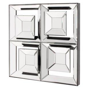 Mirrors - Aragon Frameless Wall Mirror - Simply Mirrors - modern mirror, modern square mirror,