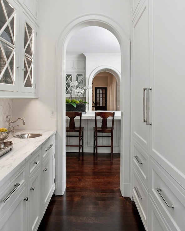 Kitchen With Butlers Pantry Designs: Butler's Pantry Cabinets