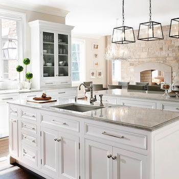 Kitchen with 2 Islands, Traditional, kitchen, Caden Design Group