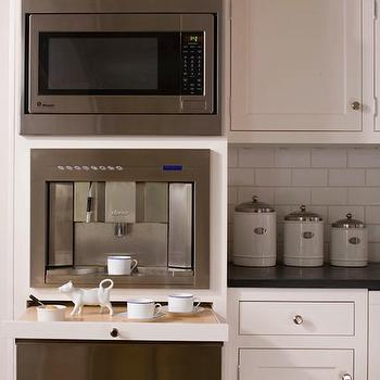 Built- In Coffee Machine, Traditional, kitchen, Caden Design Group