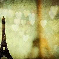 Art/Wall Decor - Valentine Paris by EyePoetryPhotography I Etsy - valentine art, valentine photography, paris valentine photography, eiffel tower photography,