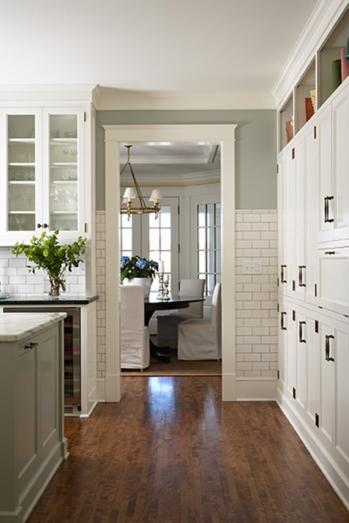 Sage Green Kitchen Transitional Kitchen Shannon Gale