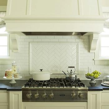 Herringbone Subway Tile, Transitional, kitchen, Benjamin Moore White Dove, Martha O'Hara Interiors