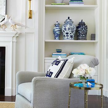 Gray Chair, Contemporary, living room, McGill Design Group