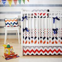 New Arrivals Inc - nurseries - crib bedding, baby bedding, nursery, baby, infant bedding, nursery bedding, chevron, red, navy, gray, baby boy bedding, orange, chevron nursery, chevron crib bedding, chevron nursery, chevron nursery bedding,