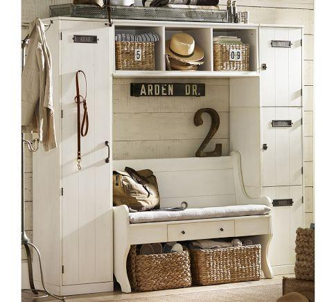 Locker Entryway System with Bench | Pottery Barn