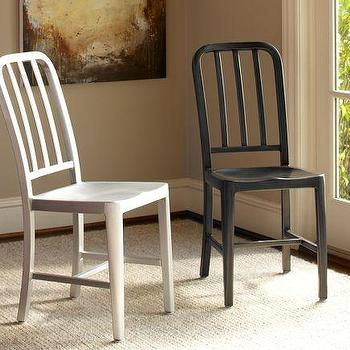 Seating - Wyatt Chair | Pottery Barn - mi-century metal chair, contemporary metal chair, black metal chair, white metal chair,
