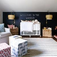 Allison Harper Interior Design and Scout for the home - Gender neutral nursery with ...