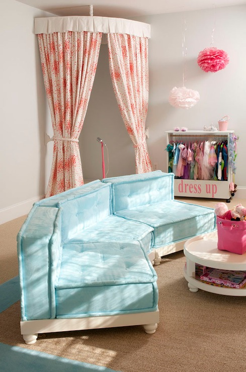 Kids Dress Up Playroom Contemporary Girl S Room