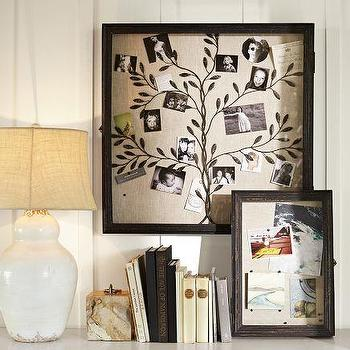 Rustic Frame Shadow Boxes, Pottery Barn