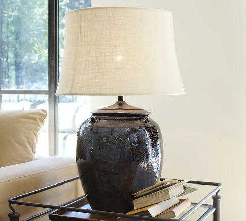 Courtney Ceramic Table Lamp Base Pottery Barn