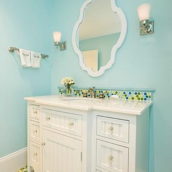 Beadboard Cabinets, Contemporary, bathroom, Lou Lou's Decor