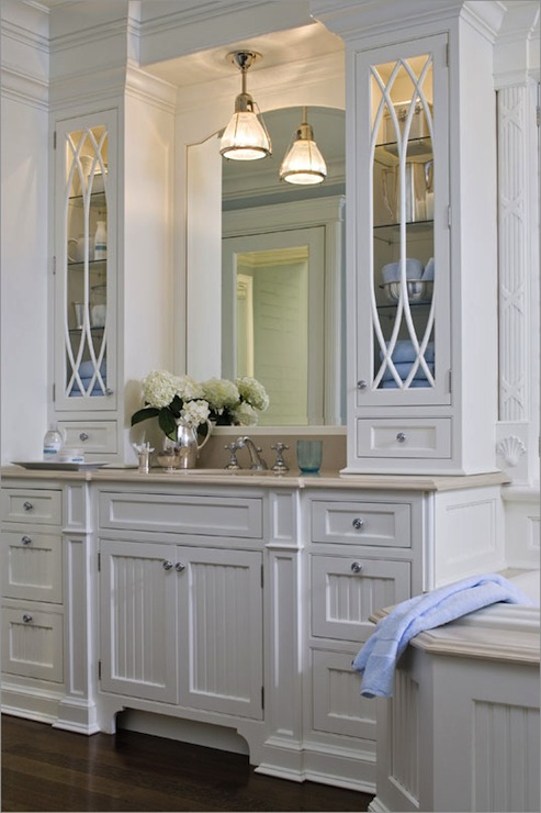 Crema Marfil Countertop Traditional Bathroom Kitchens By Deane