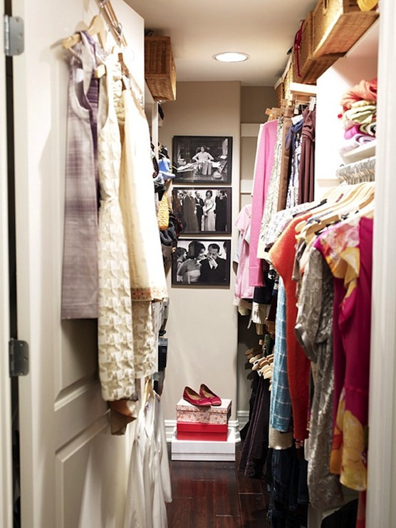 Walk In Closet Design - Contemporary - closet - Massucco Warner Miller
