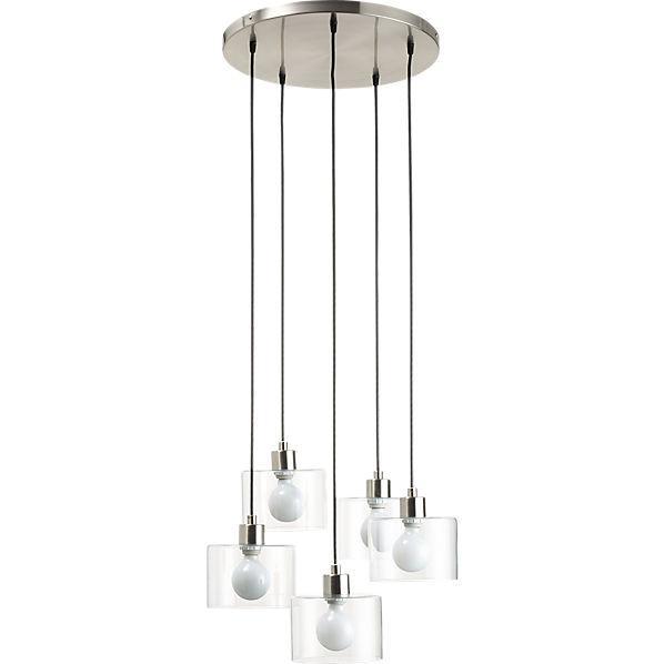 Flok Pendant Lamp Cb2