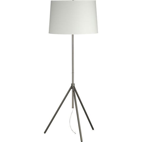 Saturday floor lamp cb2 for Cb2 lamp pool floor lamp