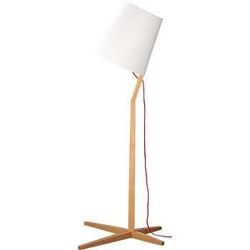 Lighting - fujiya floor lamp | CB2 - modern oak floor lamp, modern floor lamp, modern wood floor lamp,